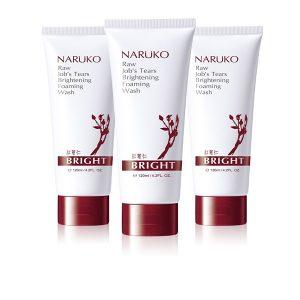 Naruko - Sữa rửa mặt bọt Ý Dĩ Đỏ